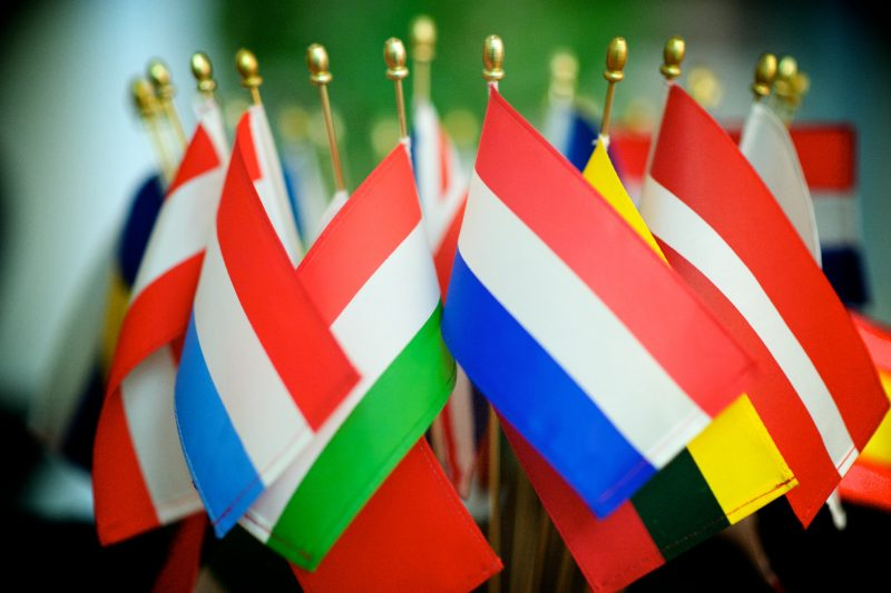 European Flags. Image by Hayley Madden