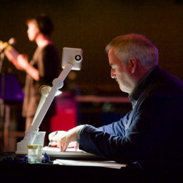 Chris Riddell live-drawing at National Poetry Day Live