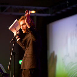Rob Auton at National Poetry Day Live