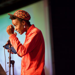 Jay Bernard at National Poetry Day Live