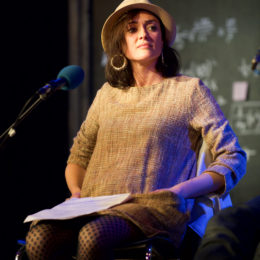 Sabrina Mahfouz at National Poetry Day Live