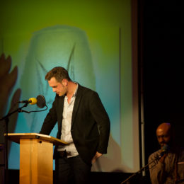 Canal Laureate Luke Kennard at National Poetry Day Live