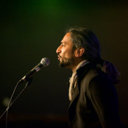 Avaes Mohammad at National Poetry Day Live