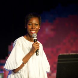 Indigo Williams at National Poetry Day Live
