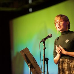 Sarah Fletcher at National Poetry Day Live
