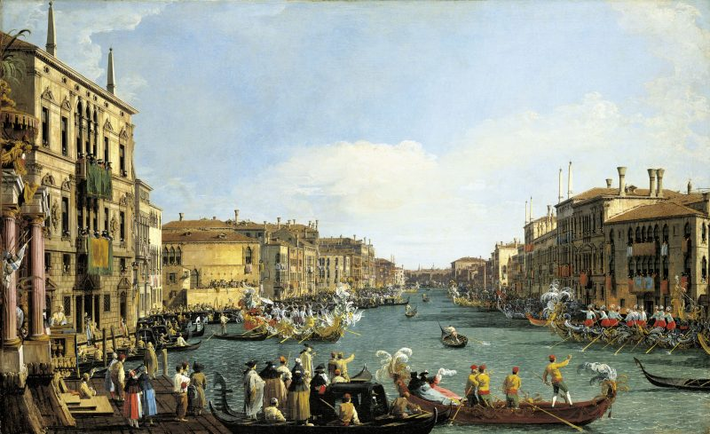 Venice: A Regatta on the Grand Canal c.1733-4