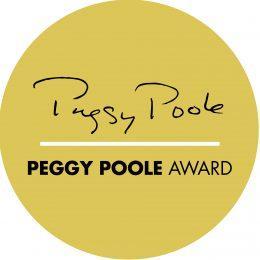 Peggy Poole Award logo.