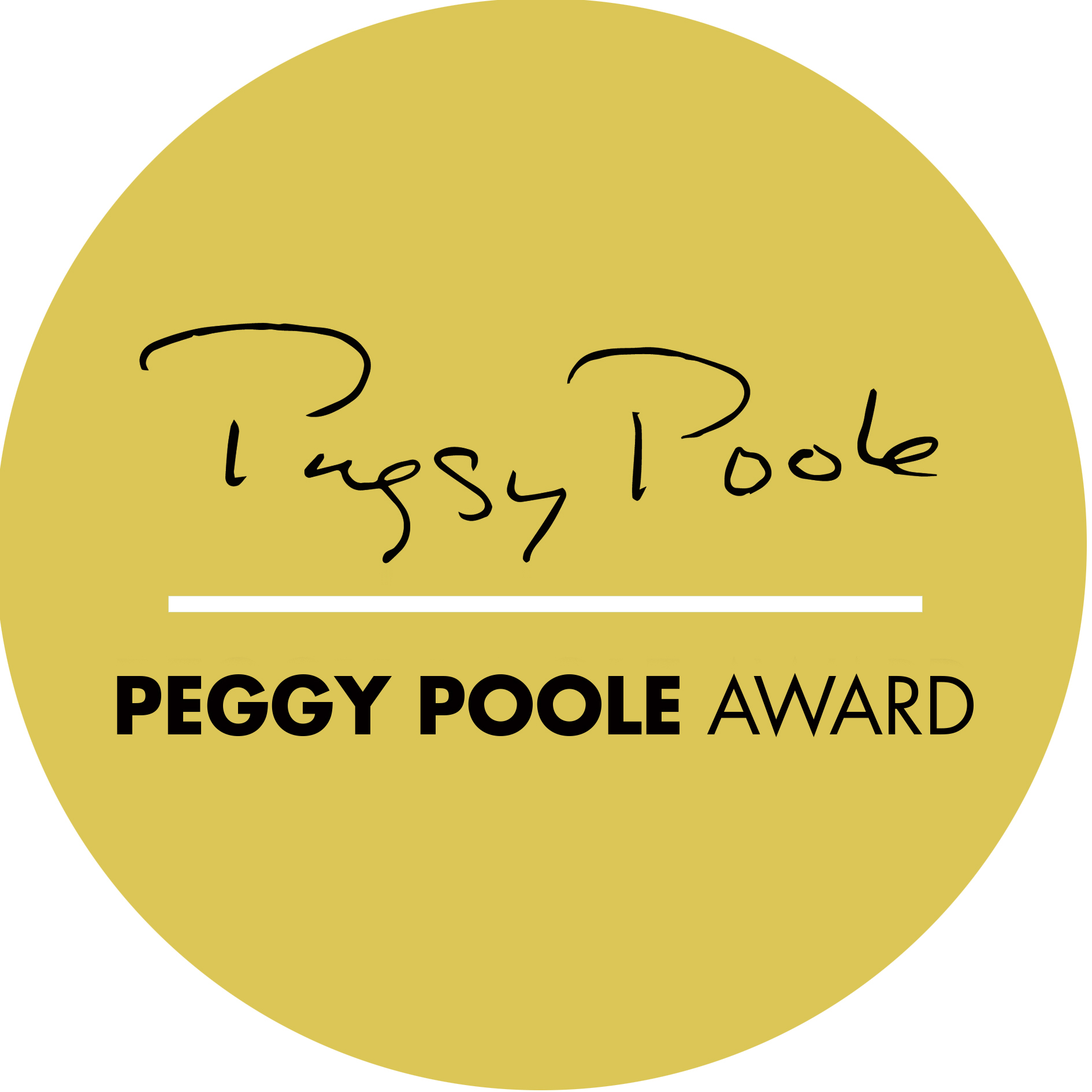 The Peggy Poole Award logo