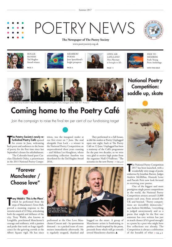 Poetry News Summer 17