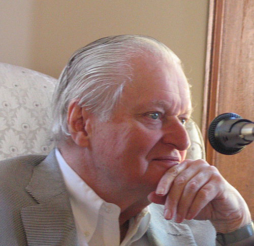 John Ashbery in 2004. Photo: Dimitry Kuzmin.
