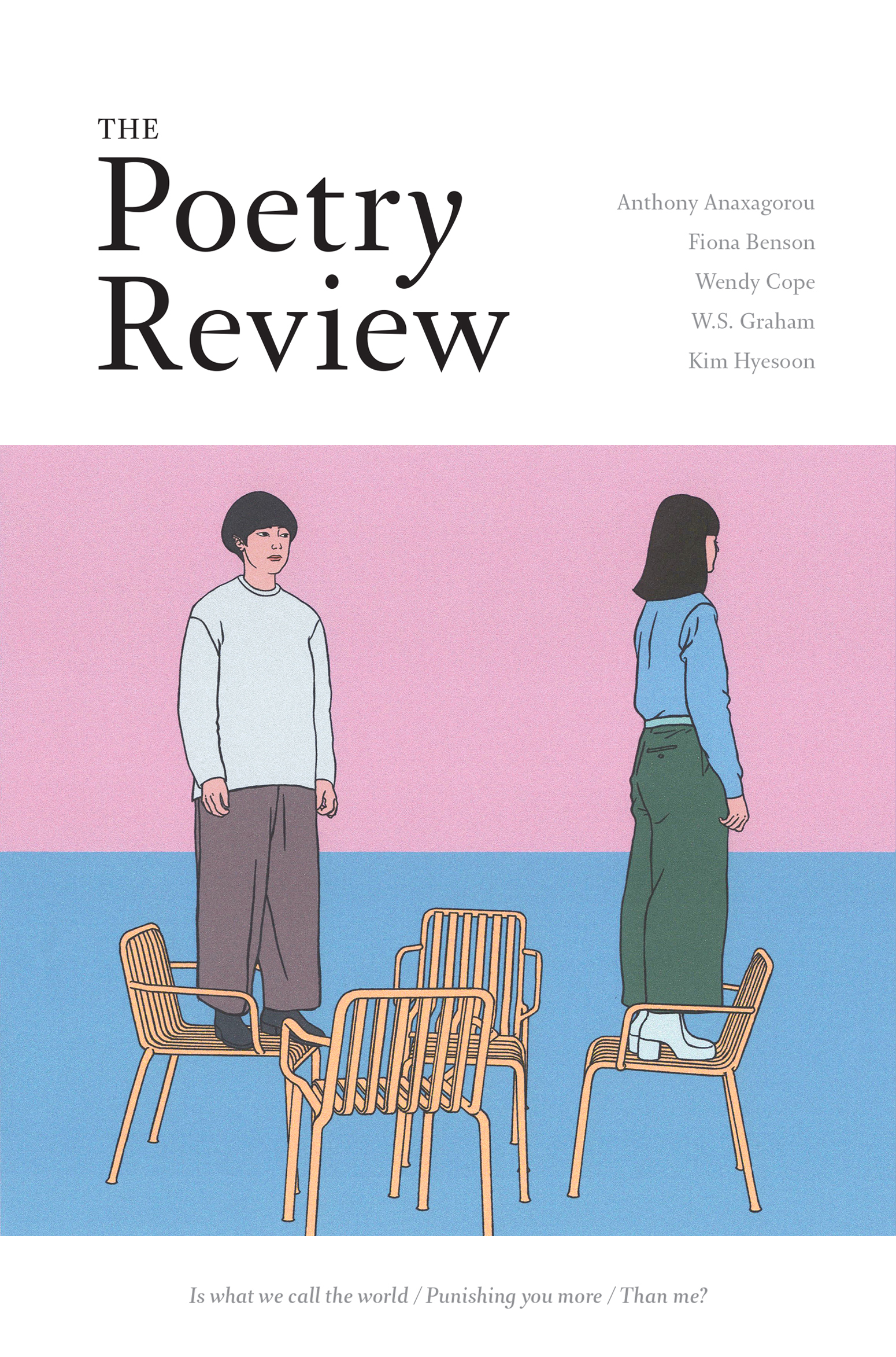 The Poetry Review Spring 2018