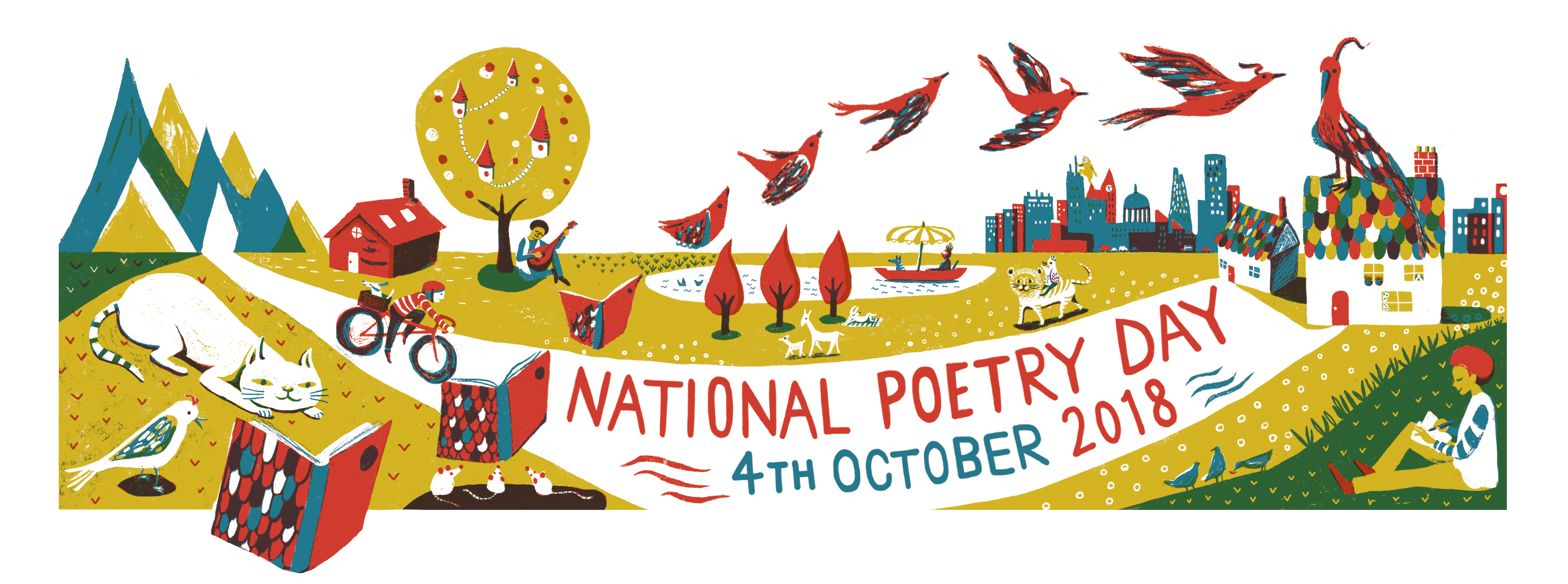 National Poetry Day 2018 web banner