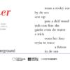 dreamer by Jean Binta Breeze