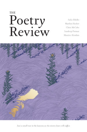 The Poetry Review 1083 Autumn 2018