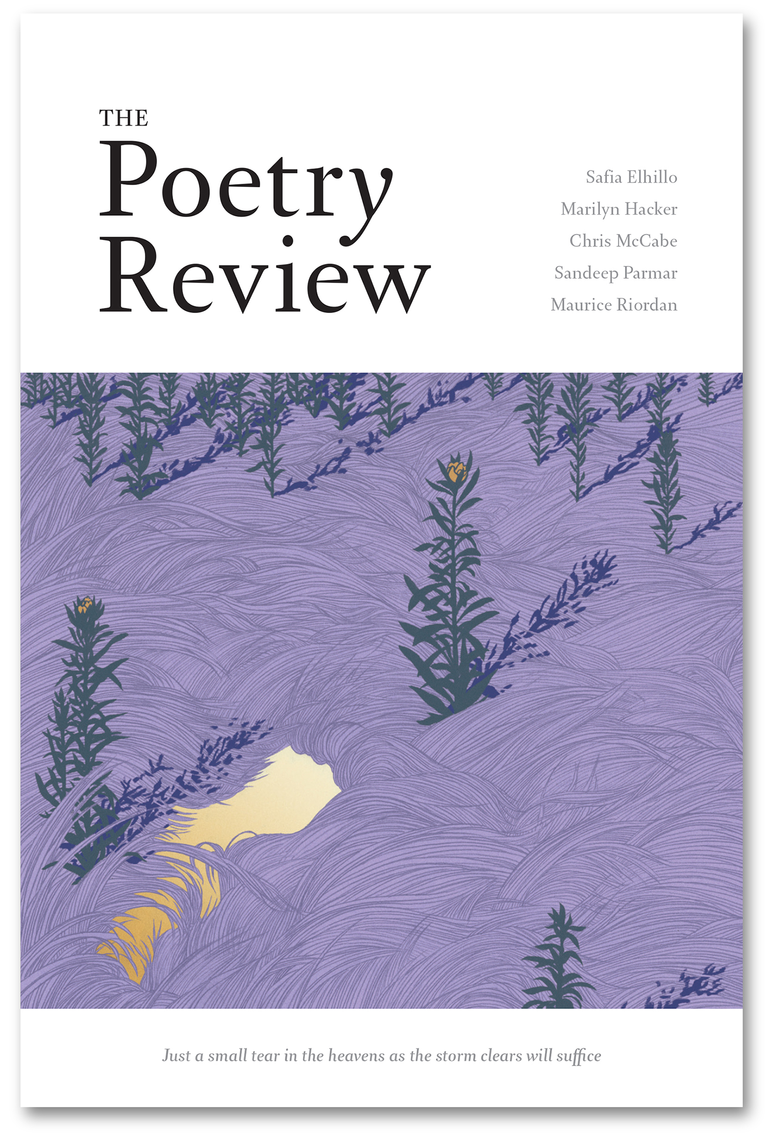 The Poetry Review 1083 with shadow