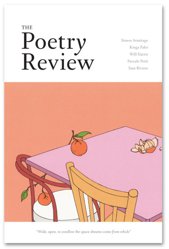 The Poetry Review 1084 Winter 2018