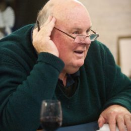 Les Murray. Photo: Hayley Madden for The Poetry Society.