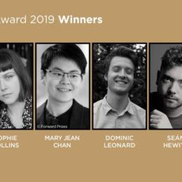 Eric Gregory Award winners 2019