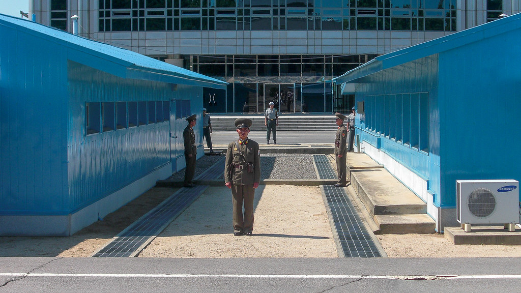 North Korea Border DMZ. Photo © Brodie Karel.