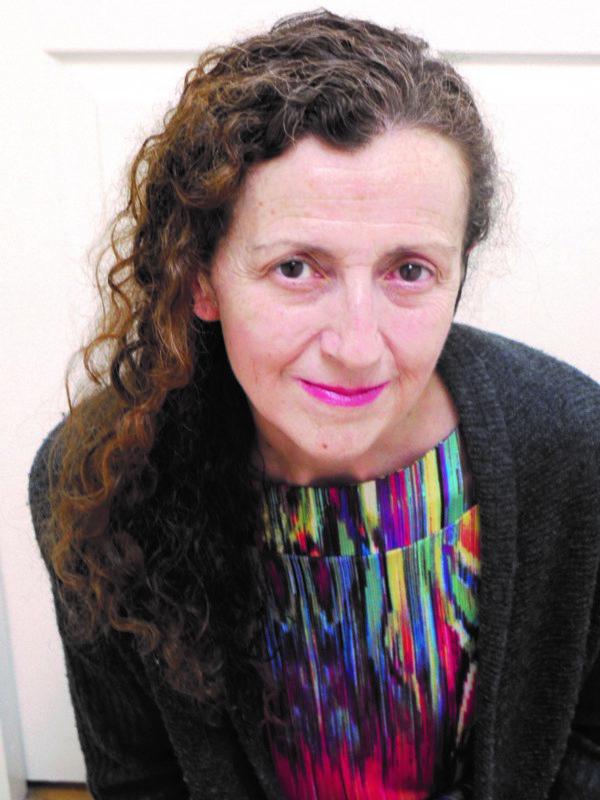 Maura Dooley, smiling.