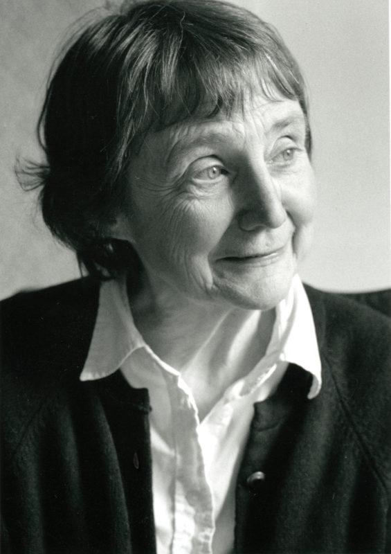 Anne Stevenson, the poet, portrait photograph by Anne Lennox.