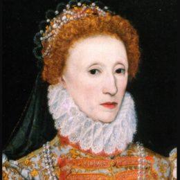 Queen Elizabeth 1 wearing a ruff