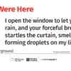 Wish You Were Here by Julia Fiedorczuk, translated by Bill Johnston