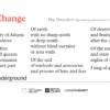 I Sing of Change by Nii Osundare