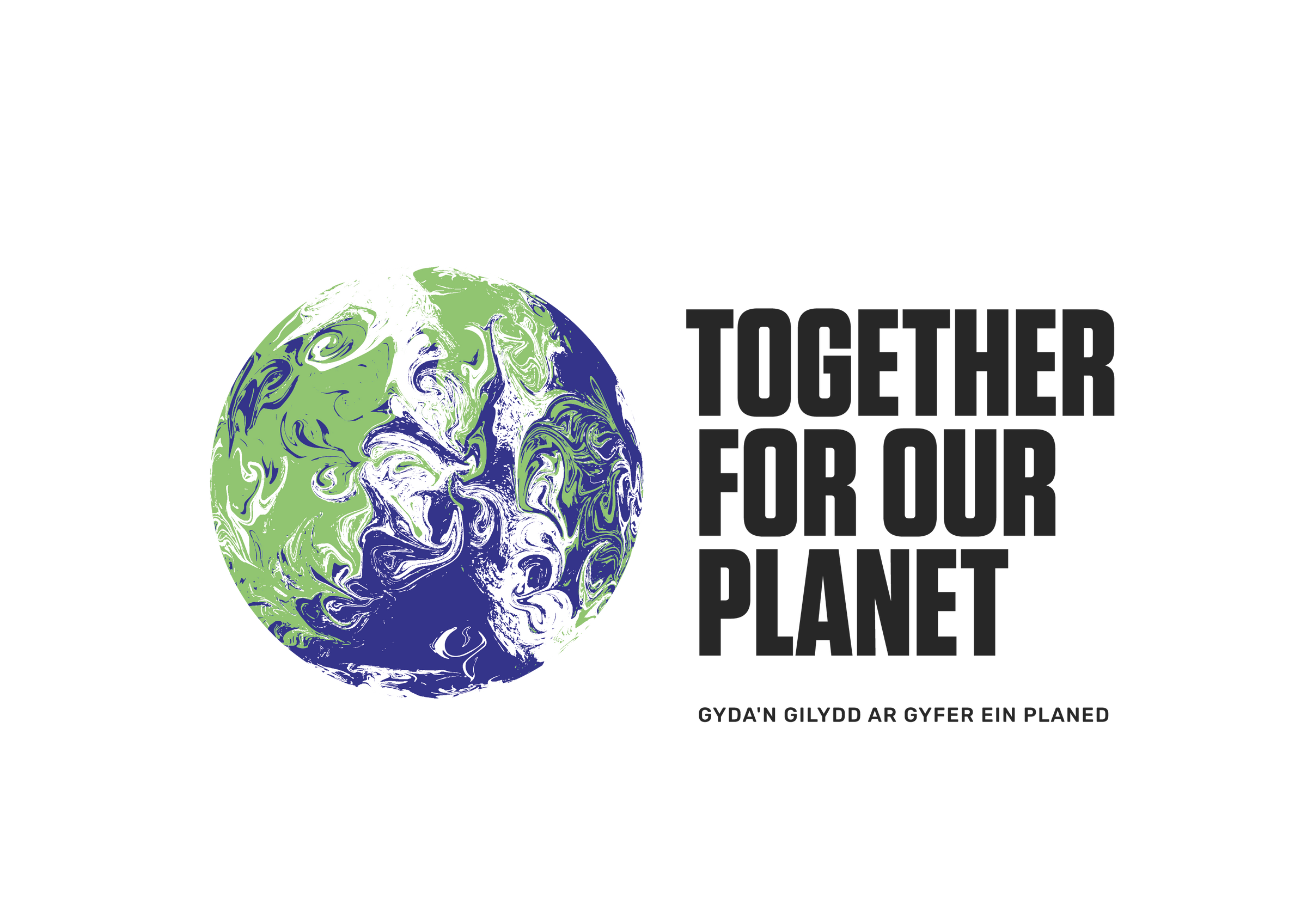 COP26 logo reading: Together for our Planet
